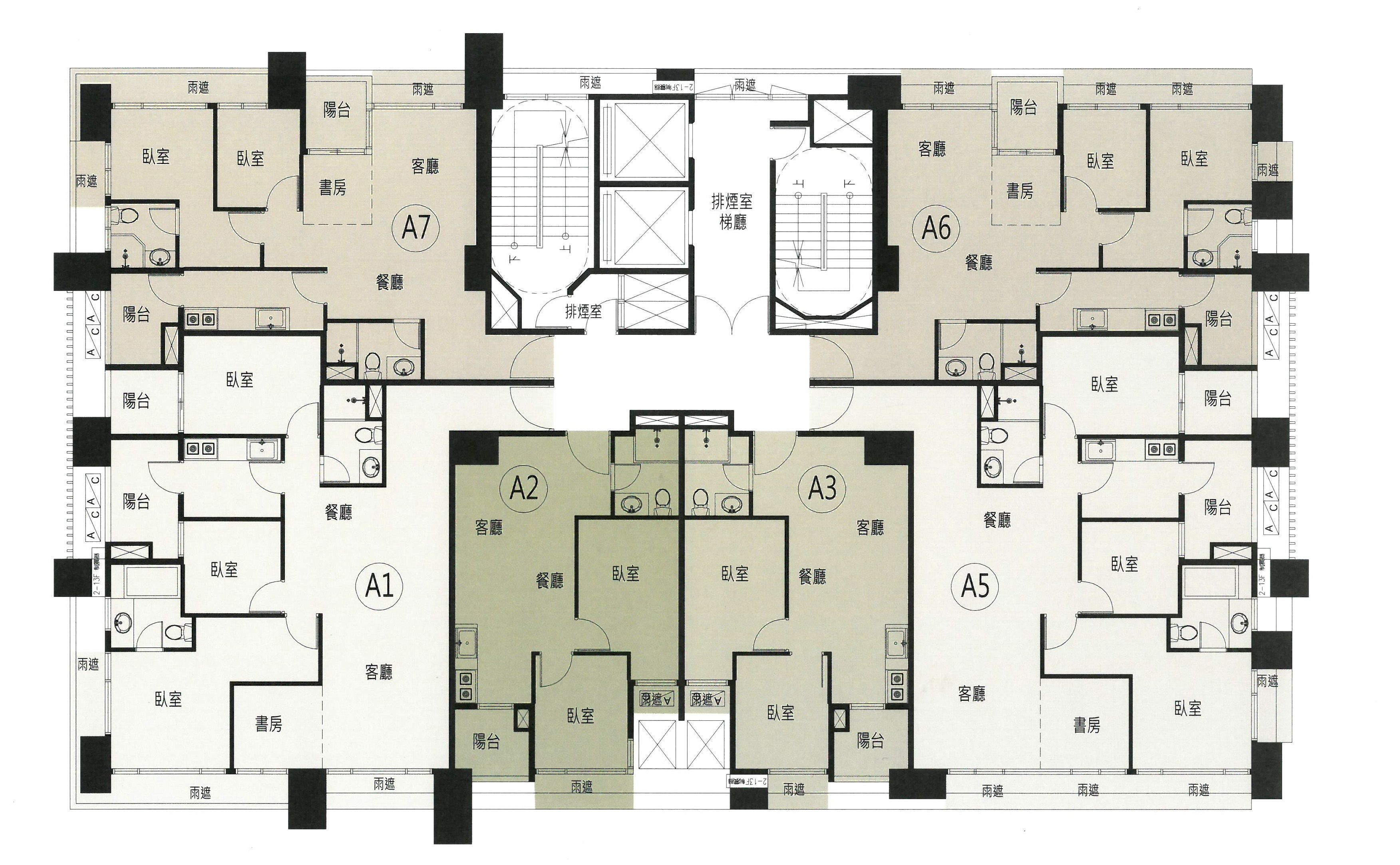 Pin By Dung Sheng Luo On A Plan Housing Family House Plans Apartment Floor Plans Apartment Plans