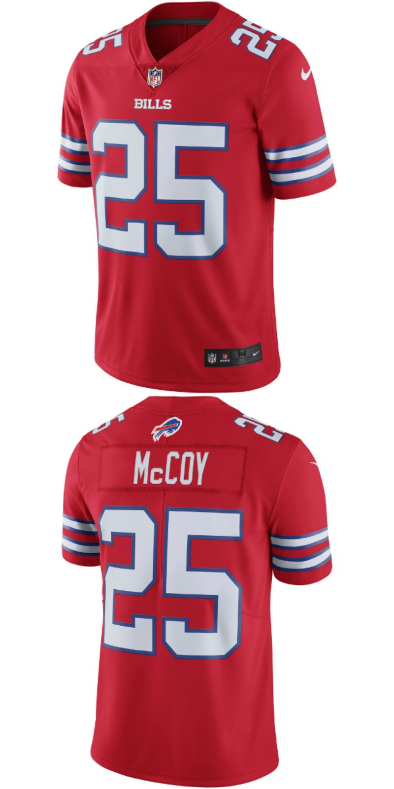 online store 70050 a136a LeSean McCoy Buffalo Bills Nike Vapor Untouchable Color Rush ...