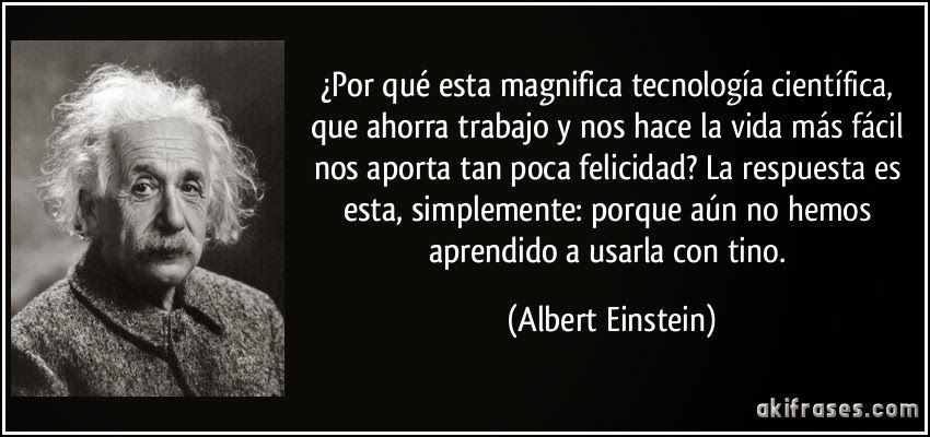 Tag Frases Celebres De Albert Einstein Tecnologia