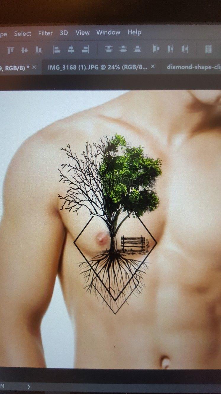 Half Alive Arbol De La Vida Tatuajes Pinterest Tatuaje Arbol