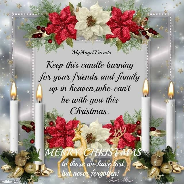 Friends And Family In Heaven Miss You Family Quotes Heaven In Memory Christmas Christmas Q Merry Christmas In Heaven Christmas In Heaven Merry Christmas Wishes