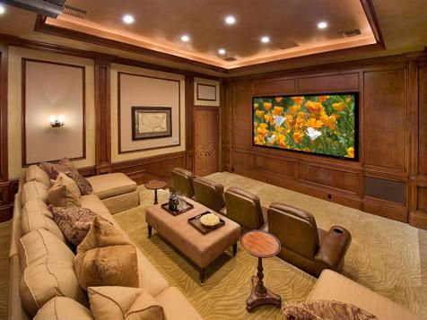 Amazing Home Theater Designs | Theater, Home remodeling and Interiors