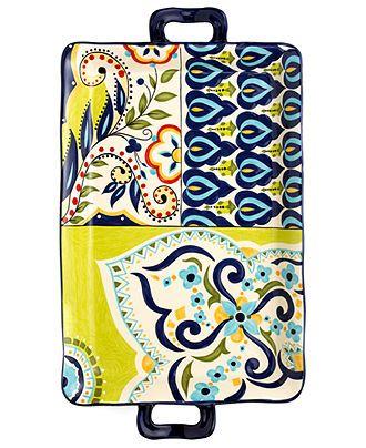 Painting Ideas For A Rectangular Ceramic Platter