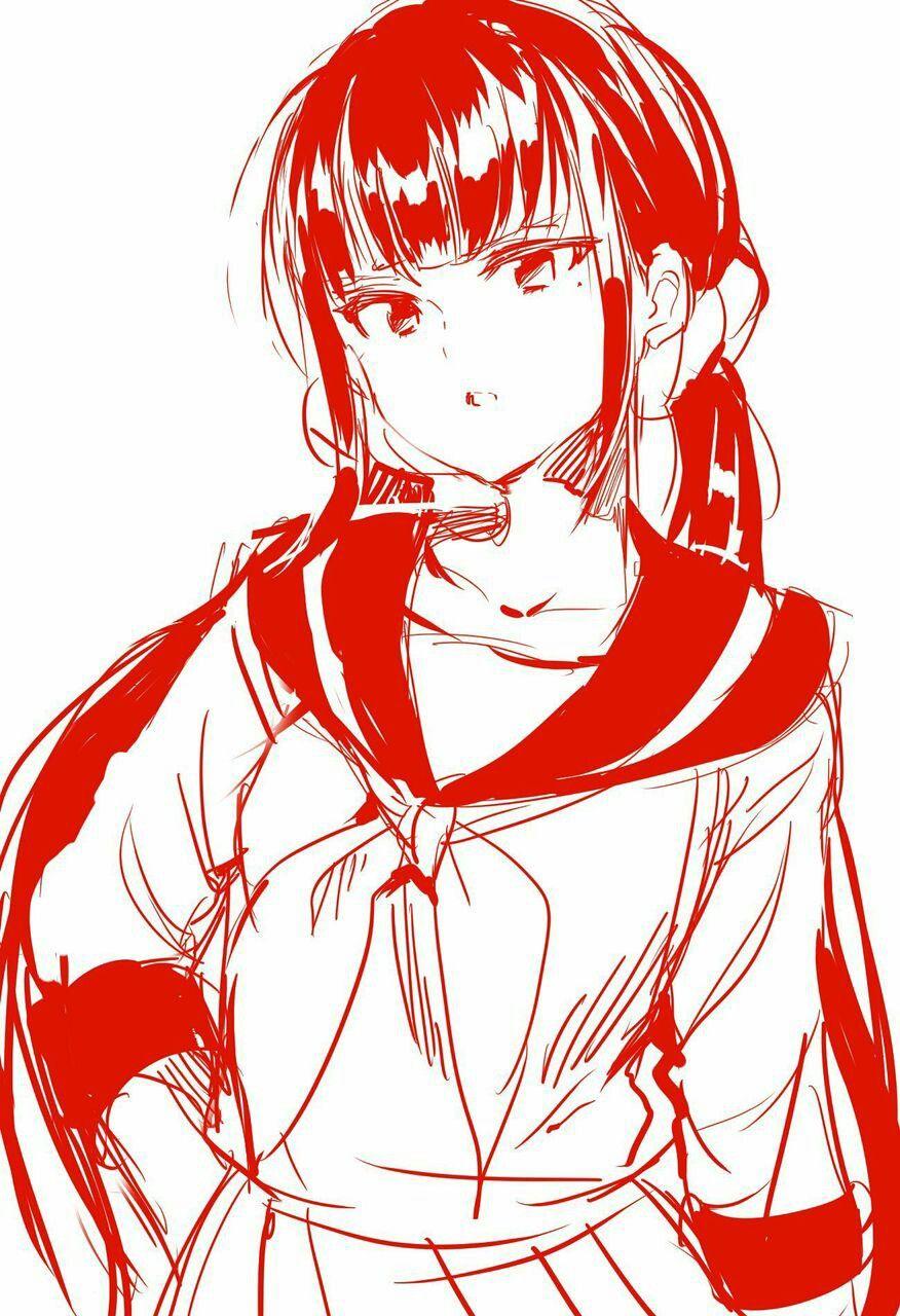 New DanganRonpa V3 Maki Harukawa Yandere anime