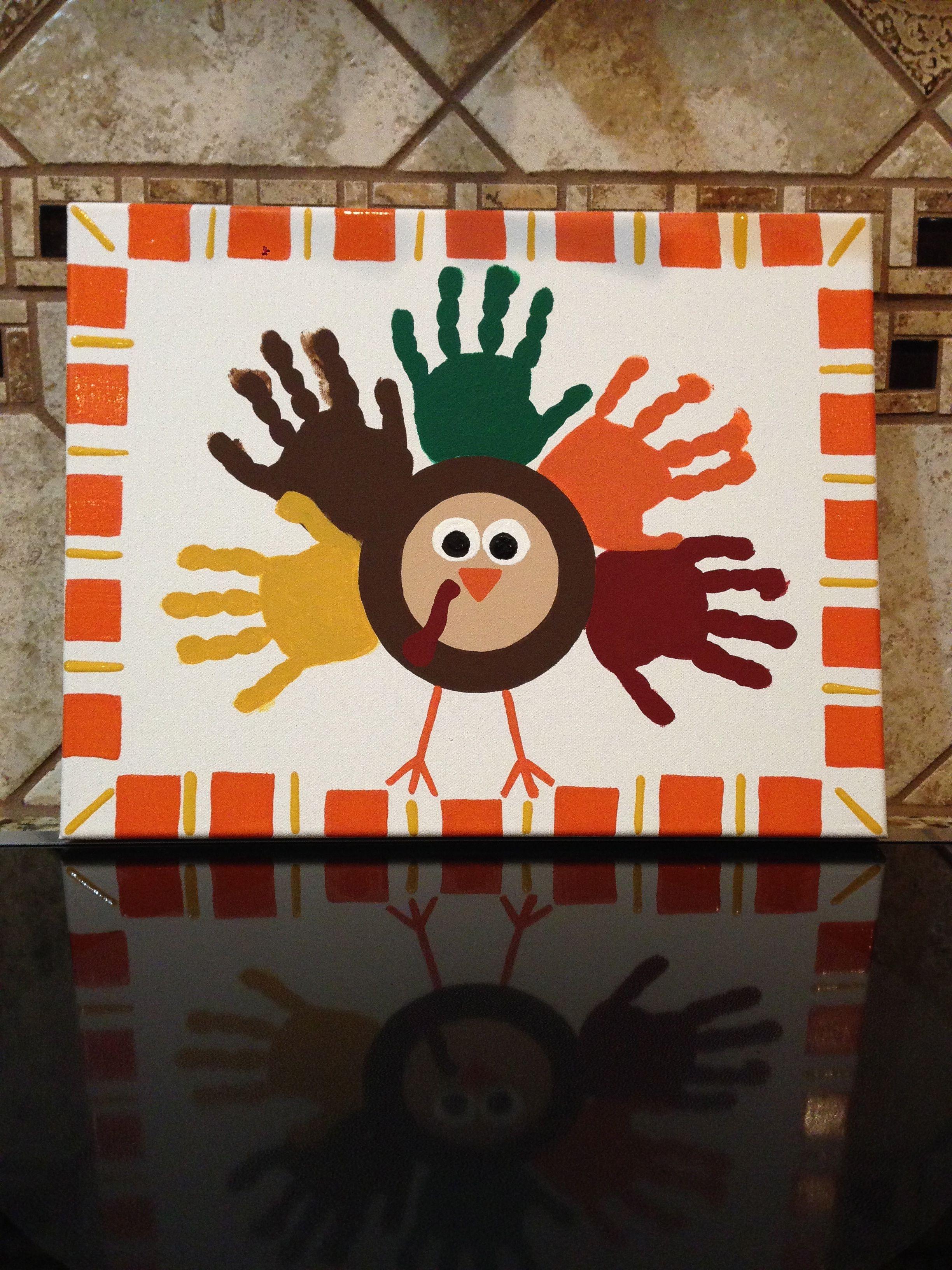 Thanksgiving Handprint Art