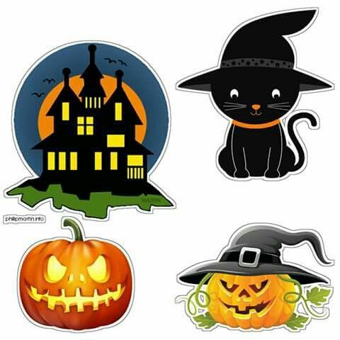 Topo De Bolo Desenhos Do Dia Das Bruxas Coisas De Halloween Desenhos De Halloween