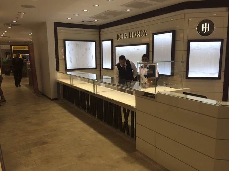 JOHN HARDY at Aruba Manufacture & Design of Store Fixtures by Artco Group