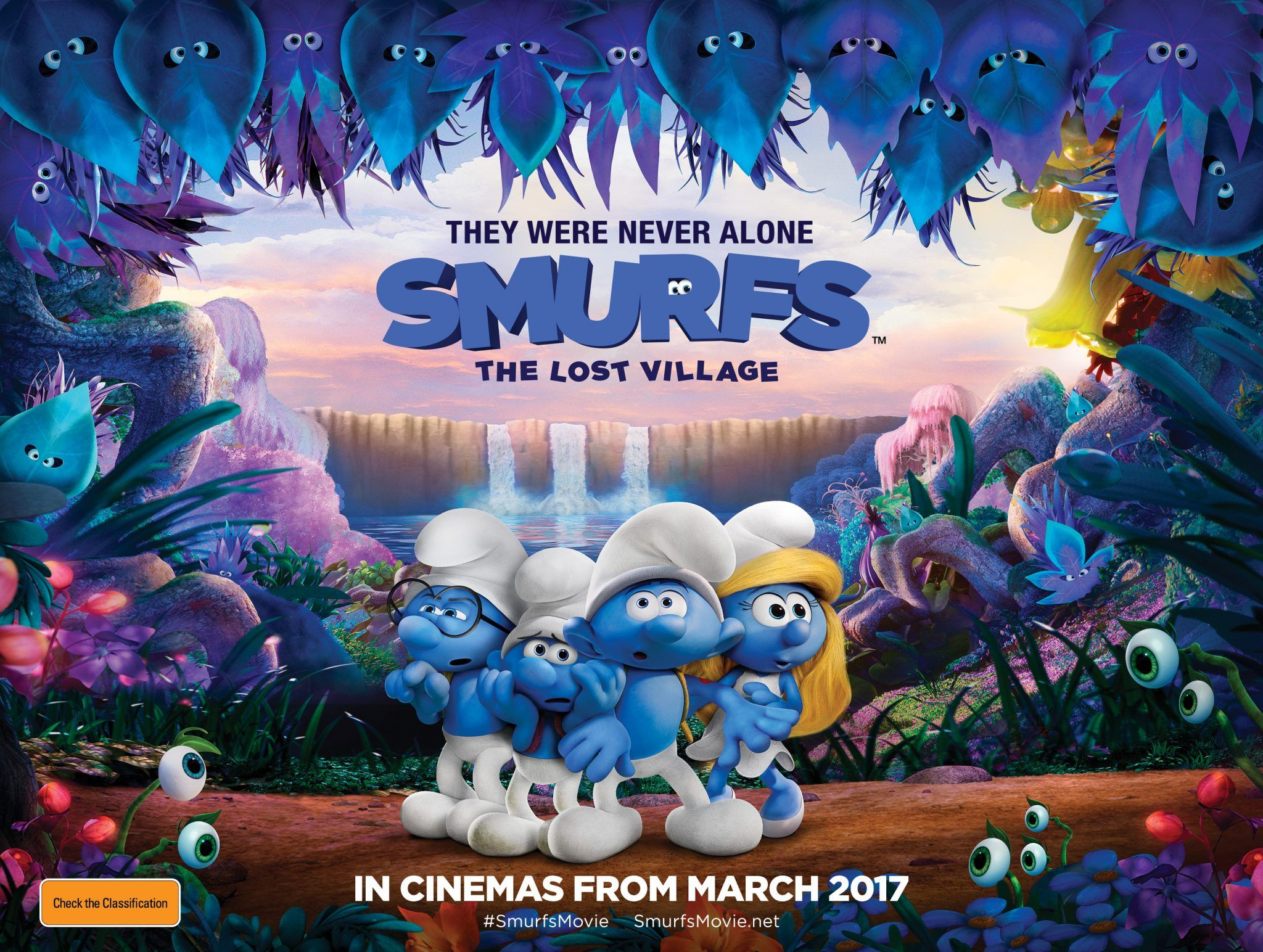 The Smurfs The Lost Village Poster