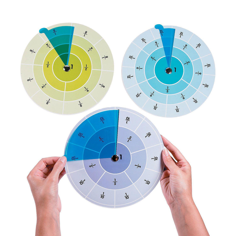 Fraction Learning Wheels