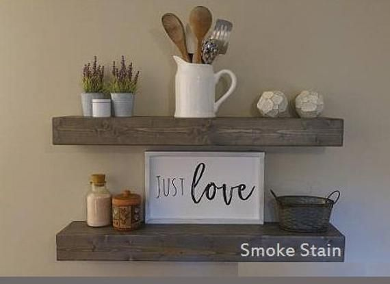 Floating Shelves Modern Shelf Shelving Shelf Wood Shelves Kitchen Shelf Chunky Shelving Shelves Nursery Shelf Wooden Floating Shelves Rustic Shelves Floating Shelves