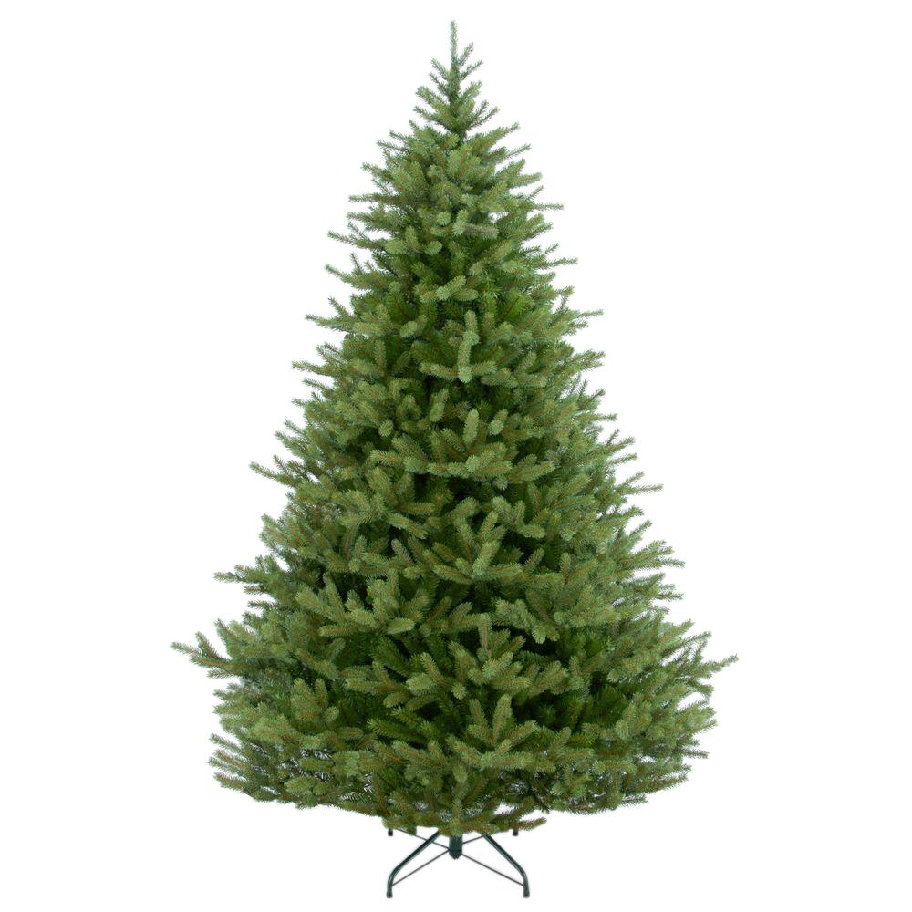 National Tree Company 7 1 2 Ft Feel Real Norway Spruce Hinged Artificial Christmas Tree Penf1 500 75 Spruce Christmas Tree Fir Christmas Tree Artificial Tree