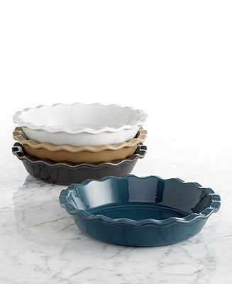 Emile Henry Natural Chic 9 Pie Dish Cookware Kitchen