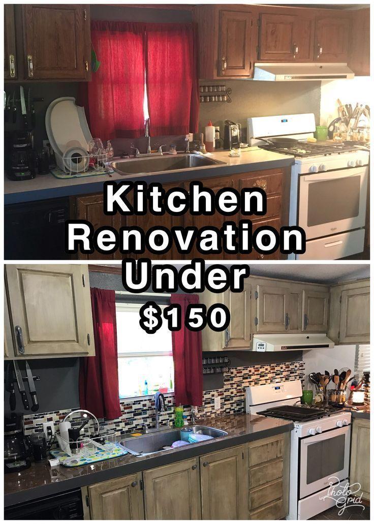 Ballin' on a Budget Kitchen Renovation Cheap kitchen