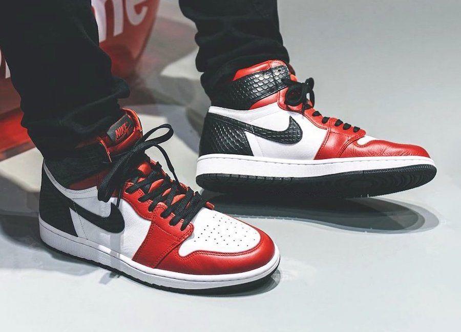 Air Jordan 1 Satin Snakeskin WMNS