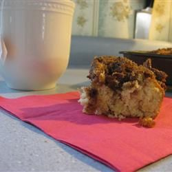 Coffee cake recipe. Also followed the advice of other reviewers to make it a lot better!