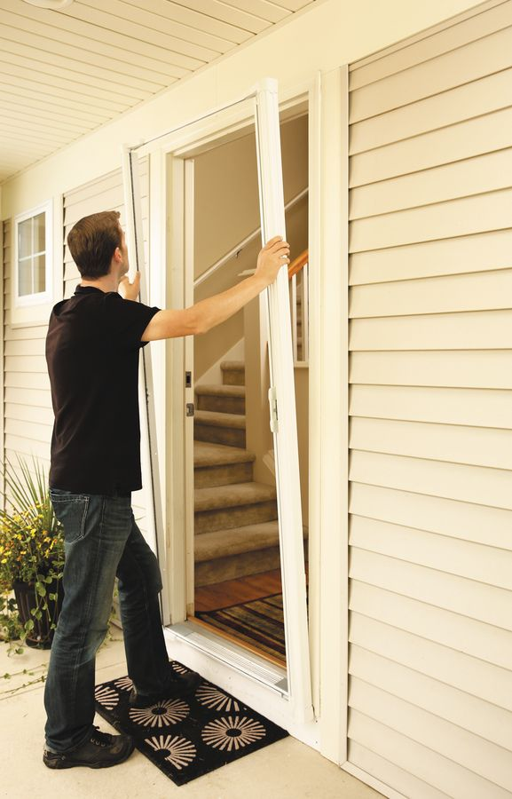 Brisa Premium Retractable Screens Inhouz Retractable Screen Retractable Screen Door Single Patio Door