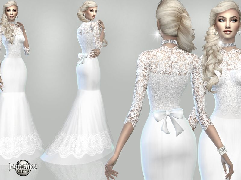 ded1b08174c5c01 atanis wedding dress Collection. Found in TSR Category 'Sims 4 ...