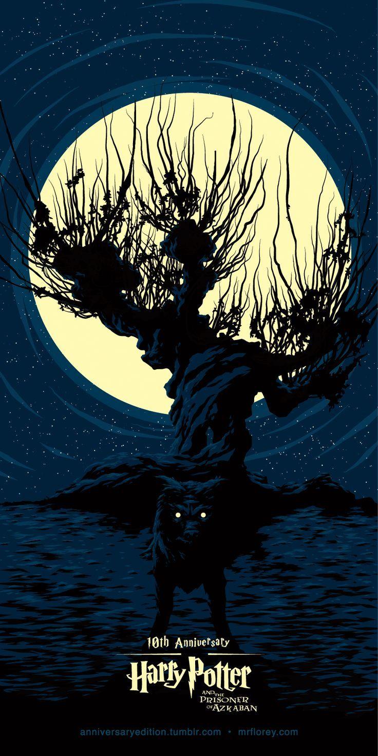 Harry Potter Y El Prisionero De Azkaban 10 Aniversario Harry Potter Illustrations Harry Potter Poster Harry Potter Art