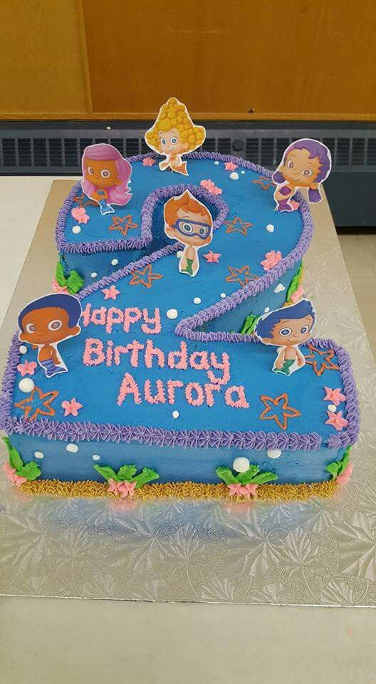 Bubble Guppies Cake With Images Bubble Guppies Birthday Party