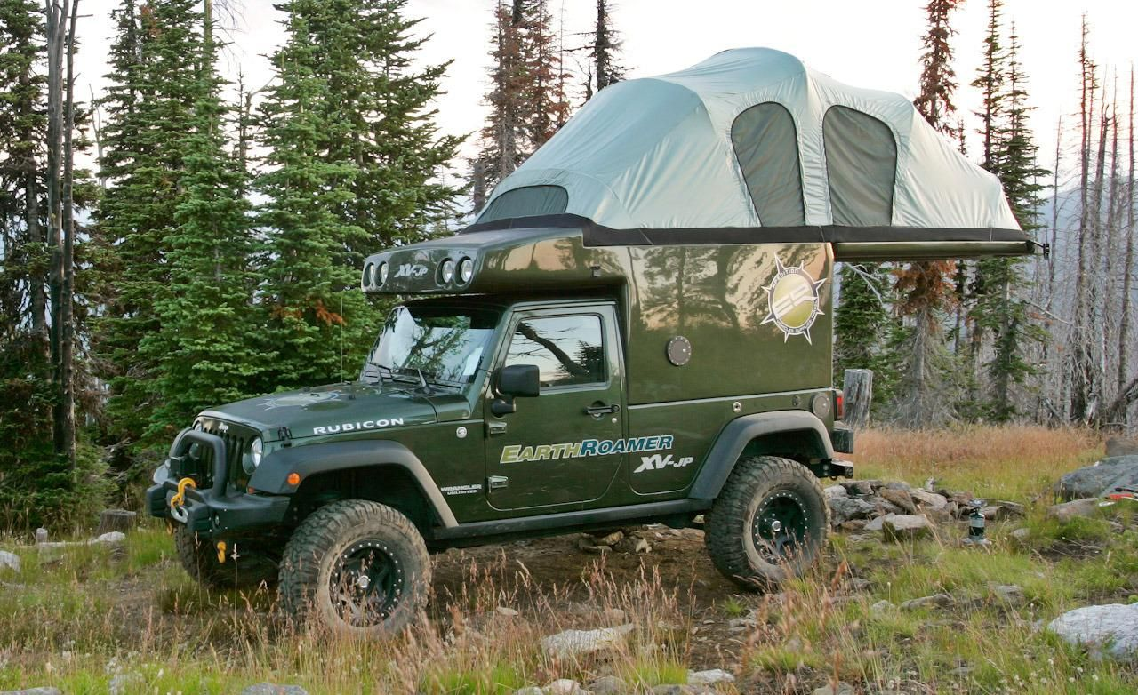 Earthroamer Overlanding Jeep Vehicles Jeep Camping