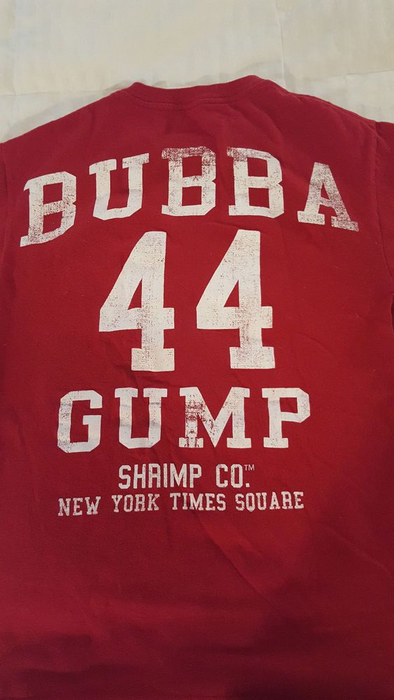 Forrest Gump /'44/' T-Shirt NEW /& OFFICIAL!