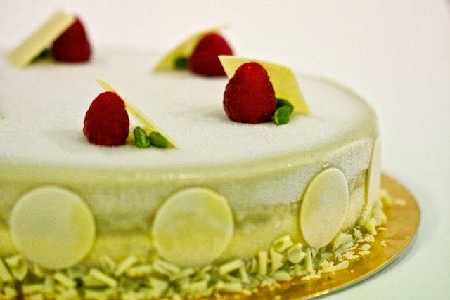 Piccola Pasticceria Sperimentale: Bavarese alla vaniglia e pistacchio