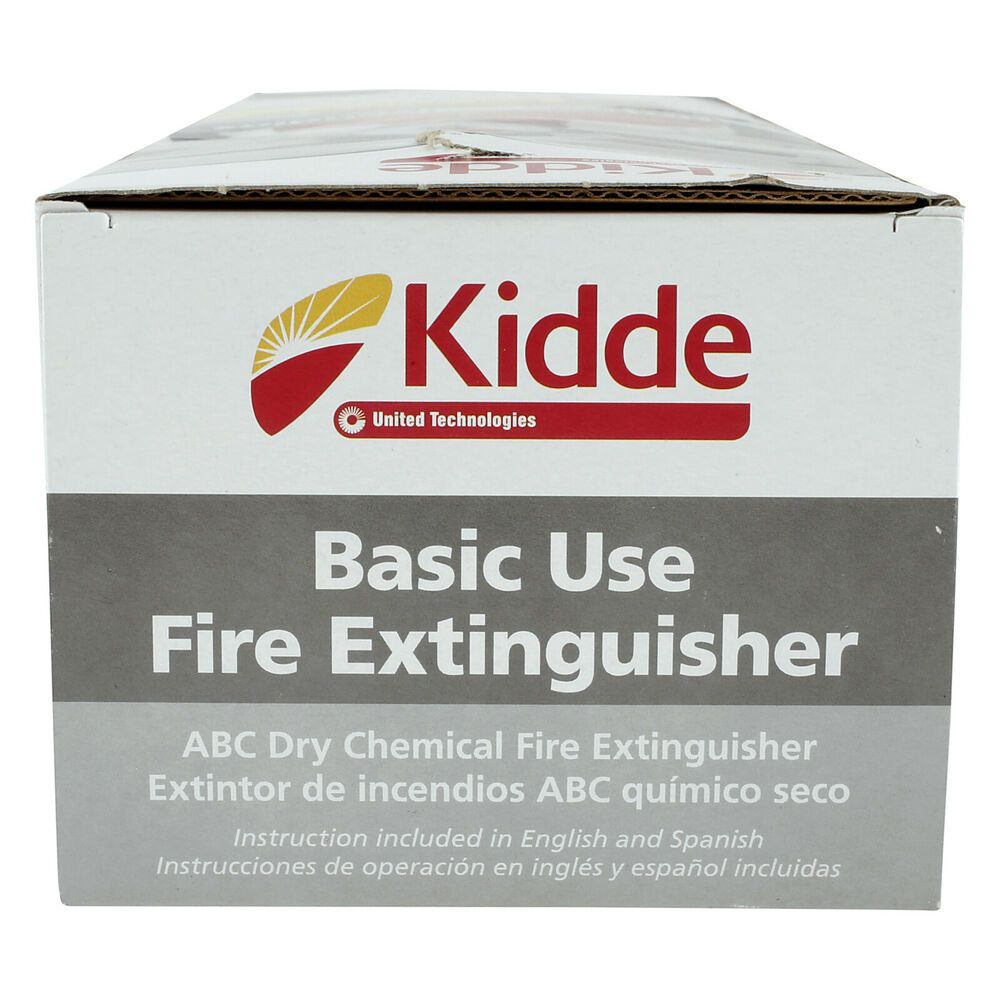 Sponsored Ebay Kidde 1a10bc Basic Use Fire Extinguisher 2 5 Lbs Fire Extinguisher Extinguisher Kidde Fire Extinguisher