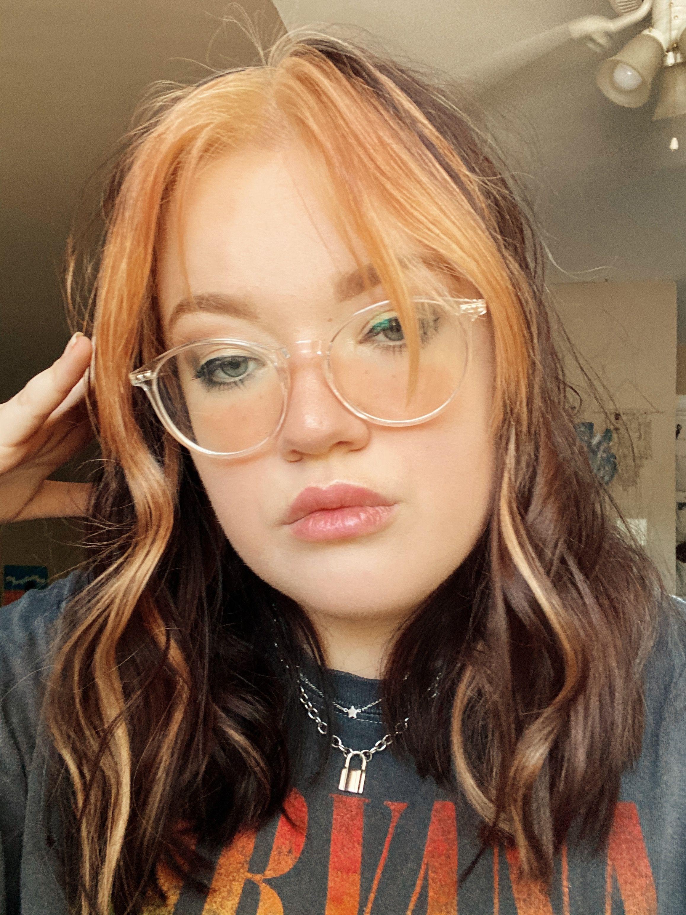 Egirl Hair Streaks In 2020 Edgy Hair Hair Streaks Curly Hair Styles