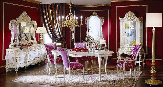 Baroque style bedroom 2236 7 interior design baroque for Modern baroque style