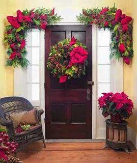 Image Result For Corner Door Christmas Decorations