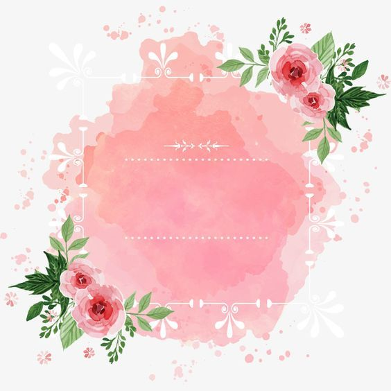 Create And Write A Cute And Beautiful Invitation Or Card To Any Person You Love Molduras Para Convites De Casamento Moldura Floral Quadro De Flores