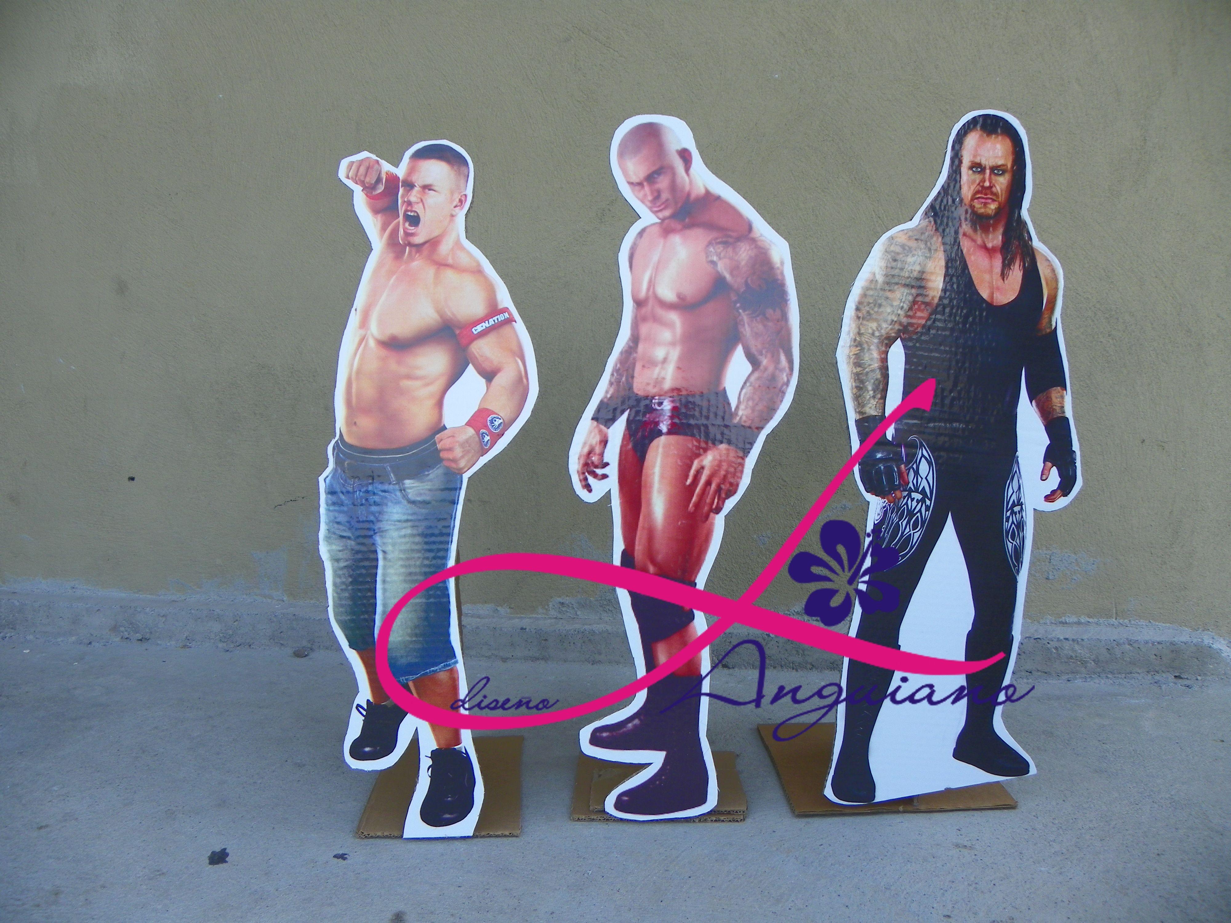 Display para Fiesta de John Cena By Linda Anguiano