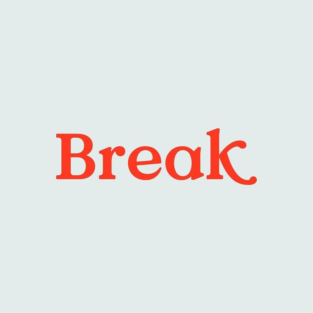 Break ⠀⠀⠀⠀⠀⠀⠀⠀⠀ #dailylogoseriesvol02
