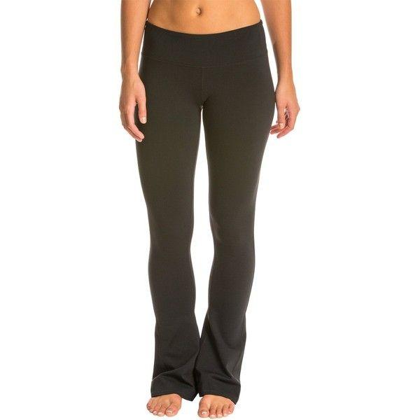 Alo Arroyo Yoga Pants ($88) ❤ liked on Polyvore featuring activewear, activewear pants, alo, yoga activewear, alo sportswear, alo activewear and logo sportswear