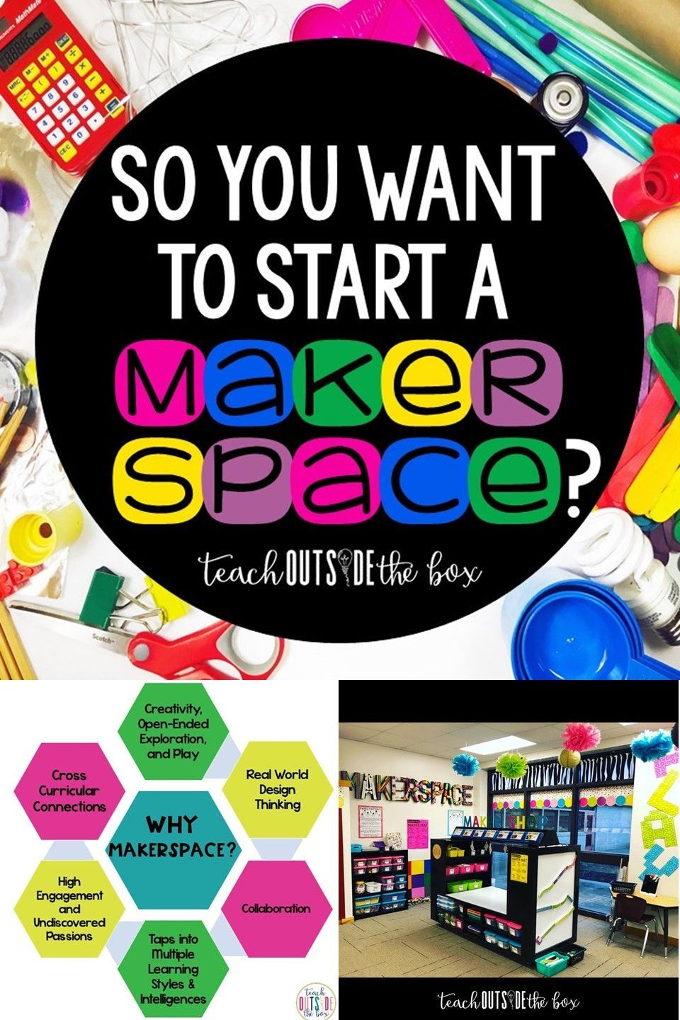 So You Want to Start a Makerspace #stemactivitieselementary