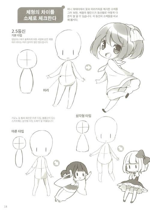 アラジン ミニキャラクター多様な描画 可愛気性スポーティ2 5 2 3頭身編 キャラクタースケッチ 絵 目 ちびキャラ ポーズ