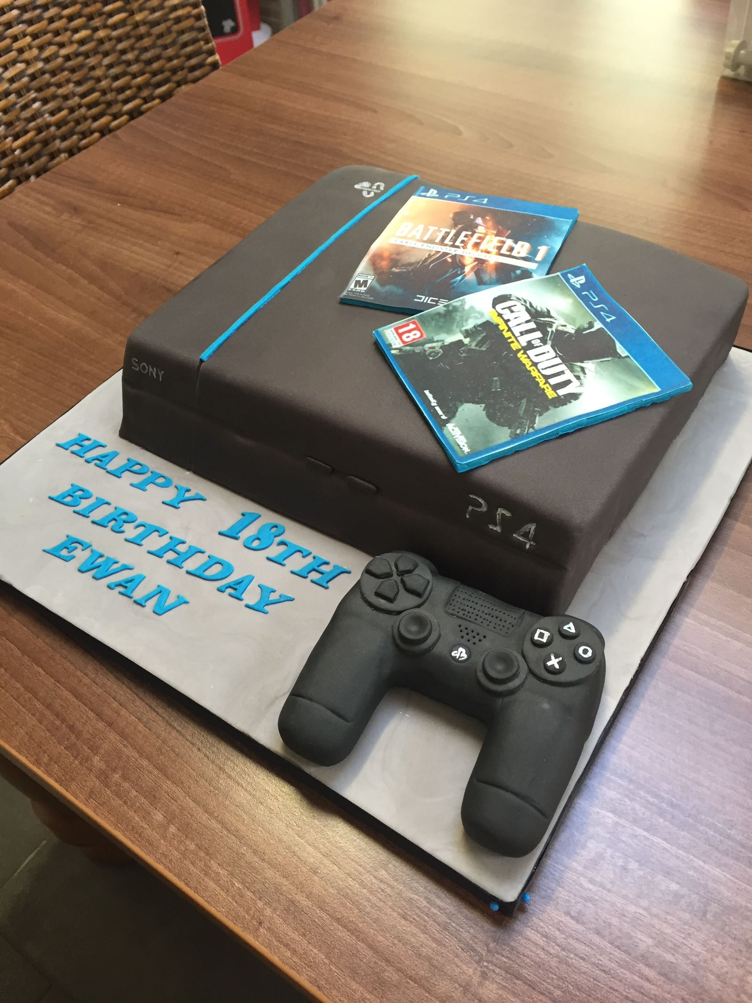 Playstation Cake Cake Ideas Playstation Cake Birthday