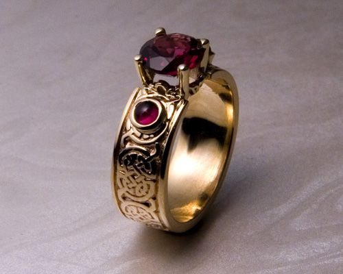 Awesome Custom made Celtic engagement rings
