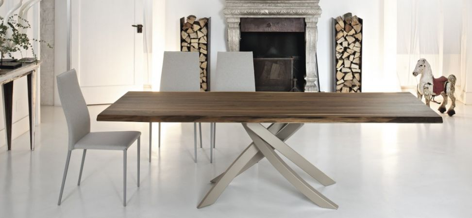 Nice Modern Design Dining Table Live Edge Dining Table Design