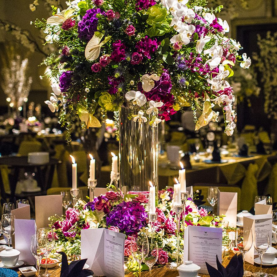An enchanted forest wedding at w hotel singapore mark and