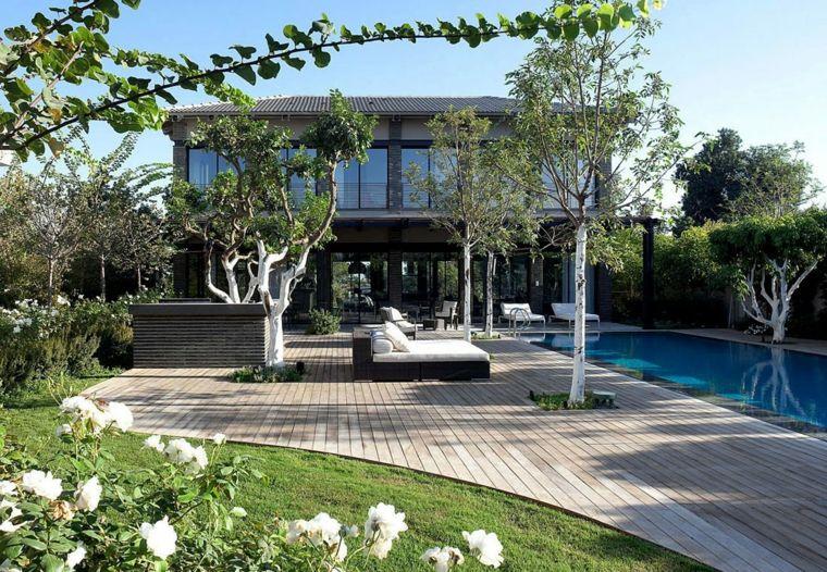 Terrasse bois piscine  quelques options pour un look naturel