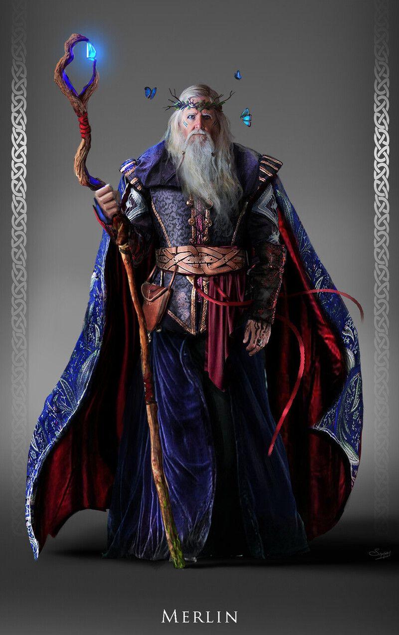 ArtStation - Merlin: Character Design, Satyaki Sarkar | Character design,  Merlin the wizard, Merlin