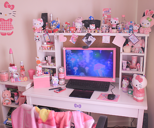 Pink Hello Kitty Decor Room Goals Pastel Room