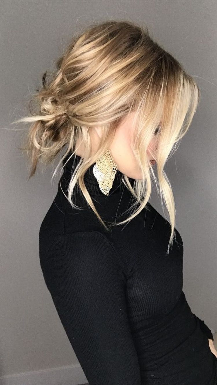 Hairstyles hair ideas hair tutorial hair colour hair updos messy
