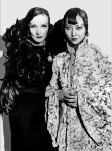 Anna May Wong and Marlene Dietrich in Shanghai Express, 1932