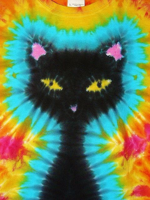 53988ec1f2c9b Cat Lover Shirt, Adult Tie Dye, Standard and Plus Sizes, Short or ...