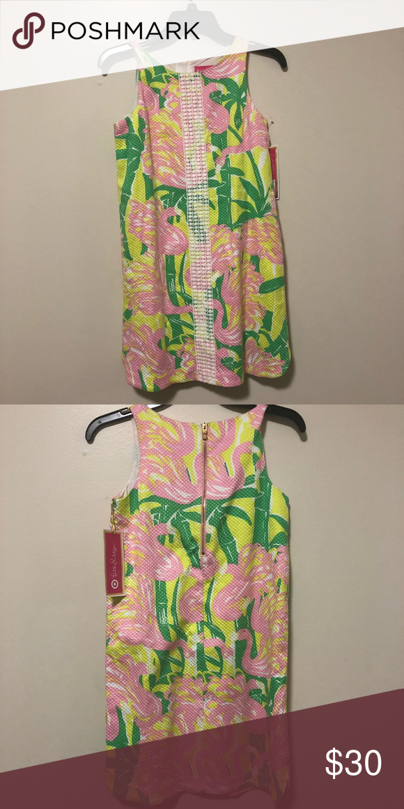 Lilly Pulitzer Mini Dress Brand New Dress Large But Is Fairly Small