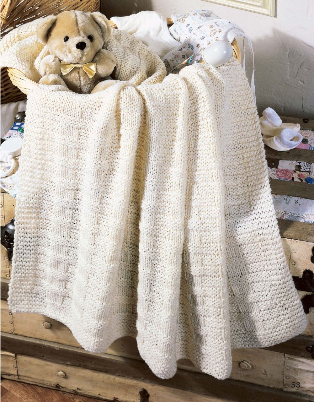 Our Best Knit Baby Afghans   Baby blanket knitting pattern