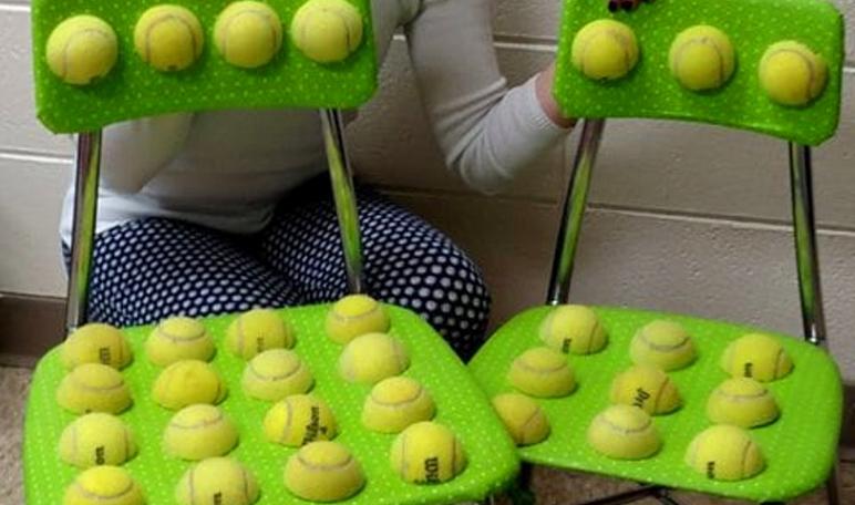 Una maestra inventa unas sillas para niños con autismo   Niños Kids ...