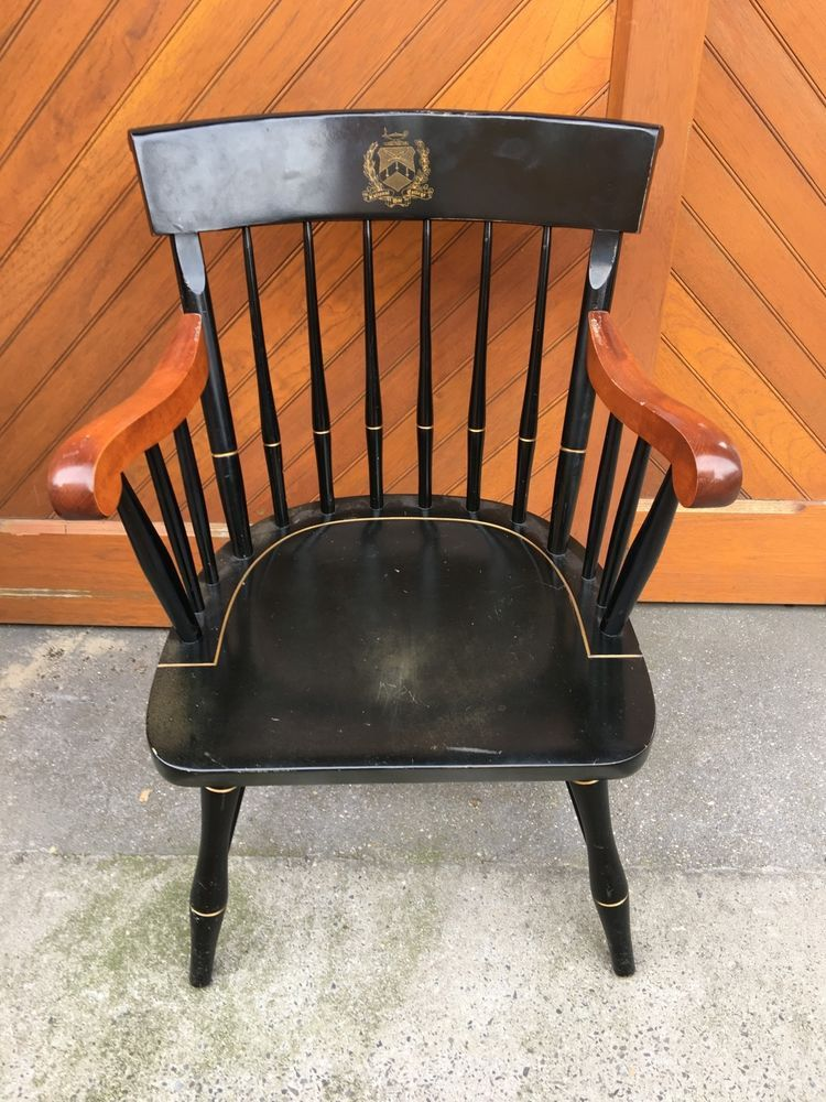 Nichols U0026 Stone War College Windsor Arm Chair Gardner Mass Vintage USA  Military In Antiques, Furniture, Chairs,